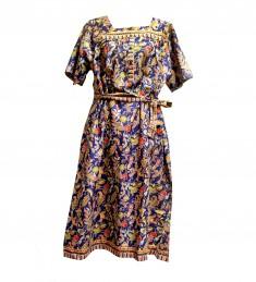 8202-DB (Square Neck Dress)